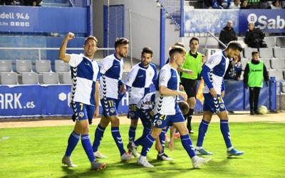 El Sabadell acumula set triomfs seguits a casa, l'últim contra l'Atlético Levante | Críspulo Díaz