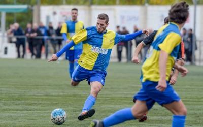 Jairo, en un partit amb la samarreta del Sabadell Nord | Roger Benet