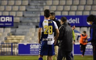 Marc Bellalta va entrar en el 79' | CE Sabadell