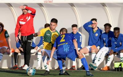 El filial arlequinat acumula cinc derrotes consecutives | CF Caldes
