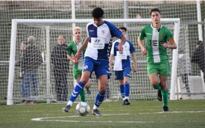 El juvenil del Centre d'Esports encadena 10 jornades consecutives sense perdre | FutBase CES