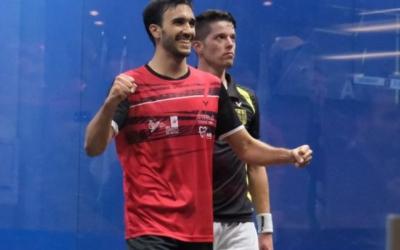 Pajares, eufòric després del seu gran paper en el Mundial d'equips | World Squash