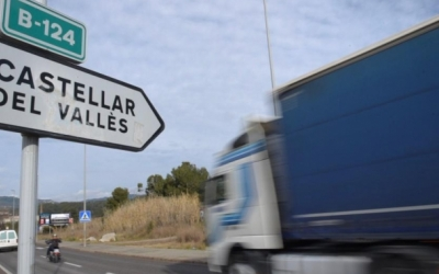La carretera B-124 uneix Sabadell i Castellar del Vallès | Roger Benet