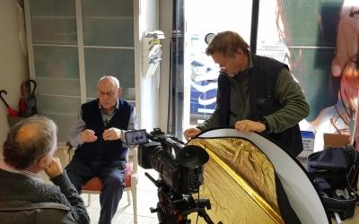Moment del rodatge del documental | Cedida