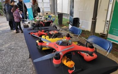 Als visitants elscrida l'atenció que també hi hagi drons submarins |Pau Duran