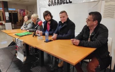 L'Associació del Poble del Sud de Sabadell assegura que el Mercat de Campoamor notancarà el 31 de març | Pau Duran