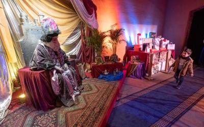 El campament reial instal·lat a la Casa Duran | Roger Benet