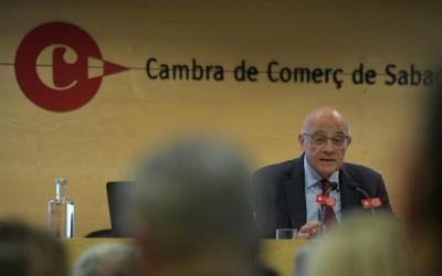 Josep Oliu, a la Cambra de Comerç de Sabadell/ Roger Benet