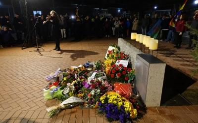 Acte d'homenatge a les víctimes de l'holocaust | Pere Gallifa