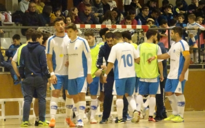 Imatge de l'equip del Club Natació Sabadell en un partit a Cal Balsach | Sergi Park