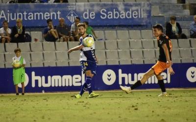 Leira, el dia del seu debut contra el Mestalla | Críspulo Díaz