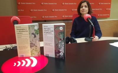 Marta Orriols, autora de les obres 'Anatomia de les distàncies curtes' i 'Aprendre a parlar amb les plantes' | Raquel García