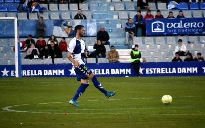 Pajarero va ser titular per últim cop en el partit contra el Prat | Críspulo Díaz