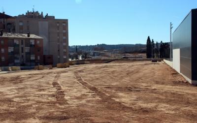 Passeig sortit del soterrament, pendent d'urbanitzar/ Cedida