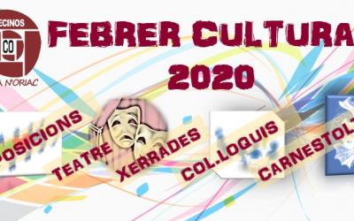 Febrer Cultural: més d'una desena d'activitats a Ca n'Oriac