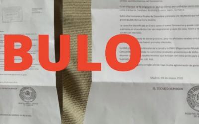 Imatge de la carta que està circulant a Torre-romeu | maldita.es