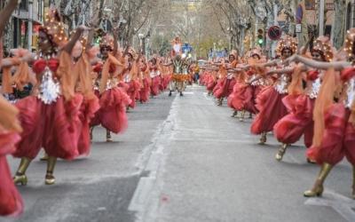 Rua de Carnaval a Sabadell l'any 2019 | Roger Benet