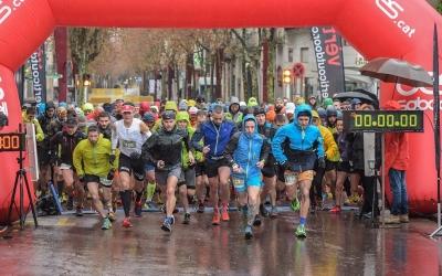 Sortida de l'última edició de La Llanera Trail, organitzada per la UES | Roger Benet