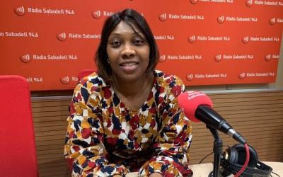 Mariama Camera, presidenta de l'Associació de Dones Africanes de Sabadell/ Mireia Sans
