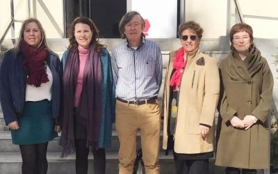 Imatge de la nova Junta Directiva del Fòrum de Síndics de Catalunya | Cedida