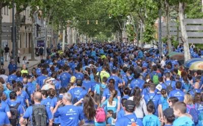 Participants de la 4a edició de la Sabadell Corre pels Nens/ Roger Benet