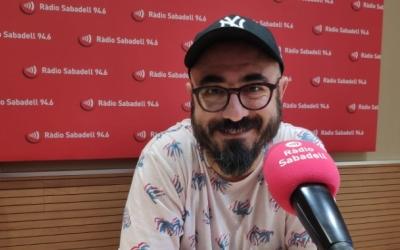 Nando Caballero a Ràdio Sabadell | Raquel Garcia