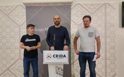 Lluís Perarnau, Maties Serracant i Albert Boada (Crida) | Ràdio Sabadell