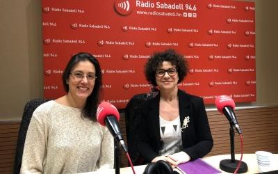 Goberg (esquerra) i Montaña a Ràdio Sabadell/ Maria Tarazaga