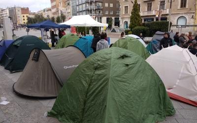 L'acampada popular del MES finalitza amb èxit de participació |Helena Molist