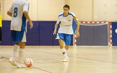 Ferran Ruiz, en un partit amb el Club aquesta temporada | Pau Vituri
