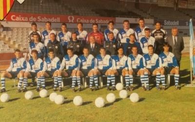 Imatge de la plantilla 1999-00 del Sabadell | Arxiu