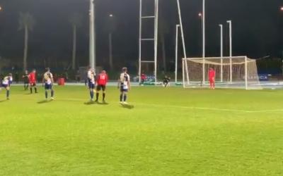 Instant previ a l'únic gol del partit | CF La Nucía