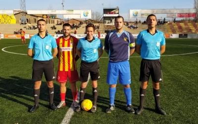 Fotografia de capitans abans de començar el partit | @SabadellNord