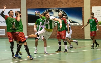 Guillem Correro va marcar set gols contra el Sant Quirze | Èric Altimis - OAR Gràcia