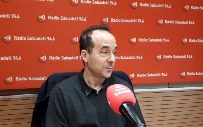 David Cànovas, neuròleg del Taulí, a Ràdio Sabadell/ Karen Madrid