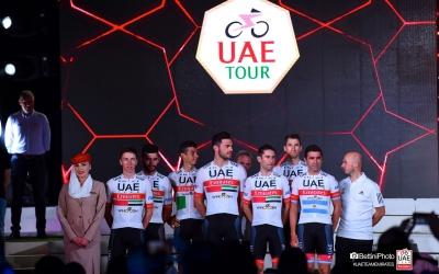 L'equip de De la Cruz s'ha vist afectat de ple al Tour dels Emirats Àrabs | UAE Emirates