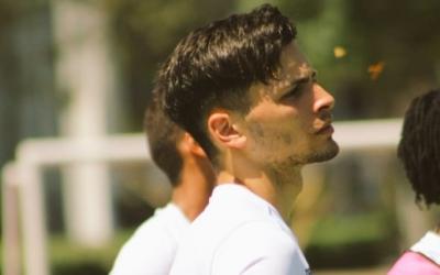 Brian López durant un entrenament a Querétaro | Twitter