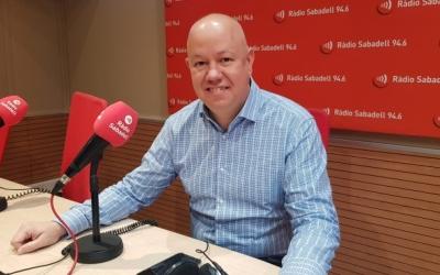 Joan García, a Ràdio Sabadell | Arxiu