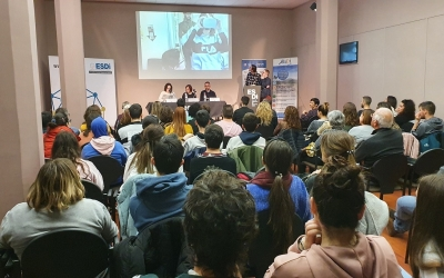 Presentació del 'Preparados' a l'Esdi/ Cedida Andi