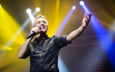 Sergio Dalma durant un concert | Oficial