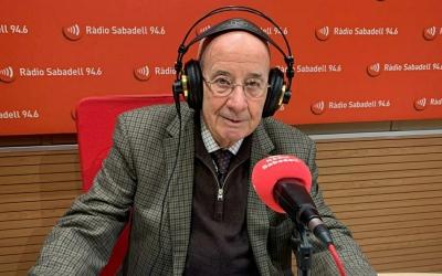 Antoni Quintana, al Cafè de la Ràdio | Mireia Sans