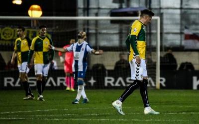 Decepció arlequinada després d'un dels gols pericos | Sandra Dihör