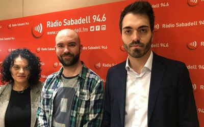 "Encarna Ruiz, Dani Hernández i Eduard Martínez, al programa ""Al Matí"" | Raquel García"