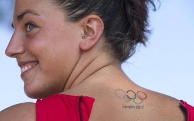 Maica Garcia, lluint les anelles olímpiques dels Jocs de Londres | EFE