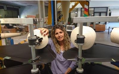 La investigadora Mònica Ardanuy capitaneja el projecte | UPC