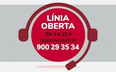 En marxa un telèfon d'informació i acompanyament emocional gratuït del Consell Comarcal | Cedida