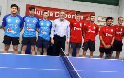 Només contra el líder Tranvía de Murcia va claudicar el Club | CNS Tennis Taula