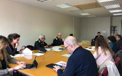 Imatge del comitè de seguiment del coronavirus a Sabadell   Cedida