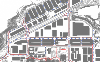 Mapa de la transformació de la zona | Cedida