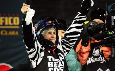 Castellet, emocionada després de guanyar els X Games | The Aspen Times
